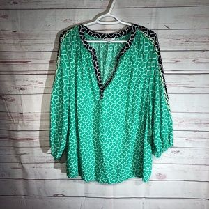 Crown and Ivy Tunic Top Size 2X